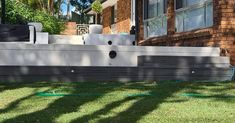 Front Yard renovation in Helensvale all finished, great curb appeal. Front Yard Landscaping, Gold Coast, Curb Appeal, Past, Deck, It Is Finished, Landscape, Projects, Log Projects