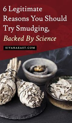 6 Legitimate Reasons You Should Try Smudging, Backed By Science Smudging Prayer, Sage Smudging, Healing Herbs, Natural Healing, Herbal Magic, Herbal Witch, Witch Herbs, Burning Sage, Spiritual Cleansing
