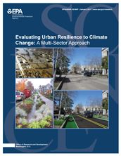Evaluating urban resilience to climate change: a multi-sector approach