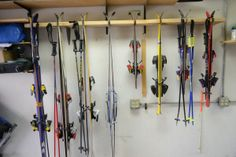 Make Your Own Garage Ski Rack for Cheap | Bring The Kids