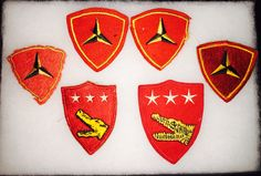 WW2 Marine Corps patches