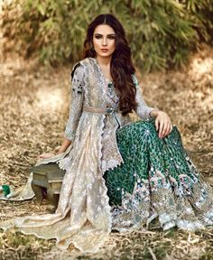 Farah and Fatima Pakistani couture