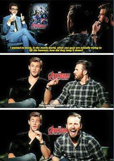 Their faces! :'D