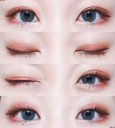 Asian eyes really cute look