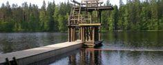 Härjänvatsa uimaranta, Silvantie 2  25390 Kiikala Bridge, Living Room, Bridges, Attic, Bro
