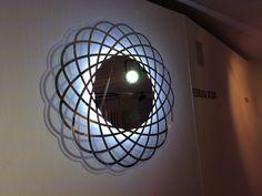 Fuori salone Light wall decoration