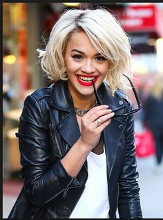 Chapter 7: Rita Ora as Mia, but I like her hair here, but just dye it black, not that bob