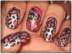Cheetah Girl - Nail Art Gallery nailartgallery.nailsmag.com by nailsmag.com