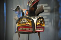 another view of this amazing Vancouver Island tribe mask.
