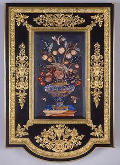 My favorite Pietra Dura Cabinet (commode à vantaux)   The Royal…