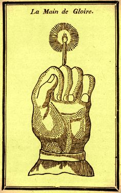 "The Hand of Glory, from Sir James George Frazer's ""The Golden Bough: A Study in Magic and Religion,"" 1922"