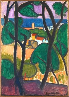 ALONGTIMEALONE: bofransson: View of Collioure Henri Matisse