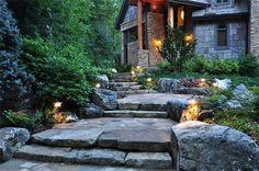 Love the steps Architectural Landscape Design                                                                                                                                                                                 More