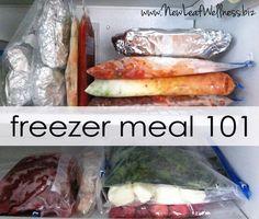 homemade freezer meal 101