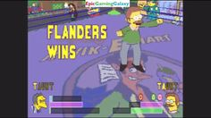 Ned Flanders VS Moe Szyslak In A The Simpsons Wrestling Match This video showcases Gameplay of Ned Flanders VS Moe Szyslak In A The Simpsons Wrestling Match