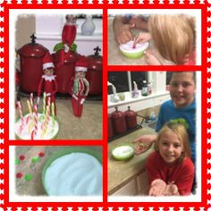 Love getting the kids involved in the Elf Shenanigans!