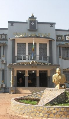 Bangui-Wonderful City Hall Building - Central African Republic