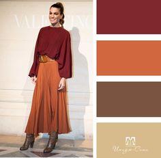 Colour Combinations Fashion, Color Combinations For Clothes, Color Blocking Outfits, Fashion Colours, Colorful Fashion, Color Combos, Fashion Illustration Face, Deep Autumn, Fall Color Palette