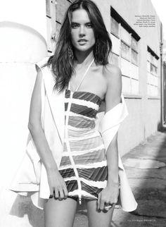Alessandra Ambrosio by Bleacher and Everard Harper's Bazaar ArabiaMay 2014