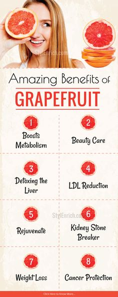 Have you ever heard about the #Grapefruits? Do you want to know the #HealthBenefits of grapefruits? Here you can find it's amazing benefits. It is really a wonder and a great health booster.