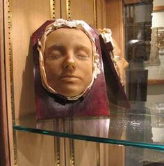 The Death Mask of Mary Queen Of Scots'