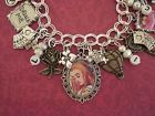 Alice in Wonderland Altered Art Charm Bracelet - http://jewelry.goshoppins.com/handcrafted-artisan-jewelry/alice-in-wonderland-altered-art-charm-bracelet/