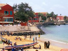 Dakar. This must be Gorée! My god how beautifully renovated. Remembering nice weekends.