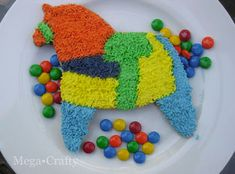 Mega•Crafty: Pinata Candy Filled Cookie