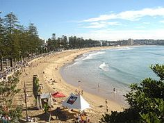 Manley Beach in Sydney is a contender for one of the most beautiful beaches in the world