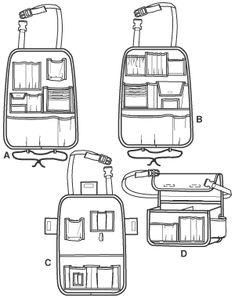 Simplicity 2916 -car organizer
