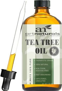 Enjoy Art Naturals highest quality tea tree oil in a larger bottle that will last you longer than any other tea tree oil on the market.