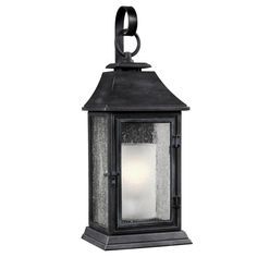 Feiss OL10602DWZ Shepherd 1 Light 26 inch Dark Weathered Zinc Outdoor Wall Sconce in Standard
