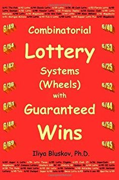 Combinatorial Lottery Systems (Wheels) with Guaranteed Wins Lottery Book, Pick 3 Lottery, Lottery Strategy, State Lottery, Lottery Tips, Lottery Games, Lottery Tickets, Winning Lottery Numbers