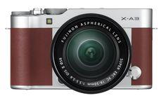 Die spiegellose Systemkamera FUJIFILM X-A3