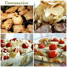 Madame Edith - Recept: Chipsgratäng med fläskfilé Cereal, Breakfast, Food, Morning Coffee, Eten, Meals, Corn Flakes, Morning Breakfast, Breakfast Cereal