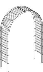 Iron garden arches for roses. Gothic Arch and Roman Arch designs – large garden arches by Garden Requisites. Metal Arch, Garden Arches, Walkway, Outdoor Structures, Garden Ideas, Roman, Gothic, Design, House