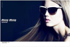 Lindsey Wixson for MIU MIU eyewear