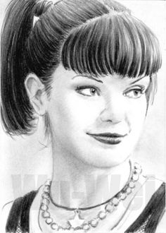 Abby from NCIS mini portrait by ~whu-wei on deviantART