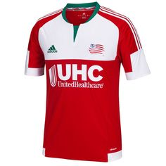 596951bc8bc New England Revolution adidas 2016 Secondary Replica Jersey - Red