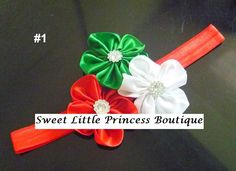 Christmas Headbands · Sweet Little Princess Boutique · Online Store Powered by Storenvy