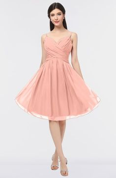 Sexy A-line Sleeveless Zip up Knee Length Ruching Bridesmaid Dresses