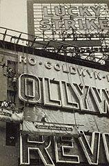 Outdoor Advertisements, Walker Evans, about 1929. © Walker Evans Archive, The Metropolitan Museum of Art