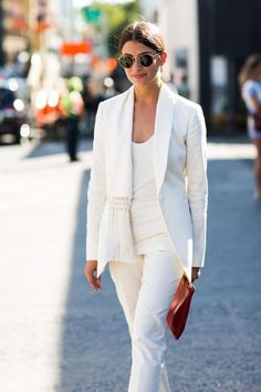 Currently obsessed with all white for Fall.
