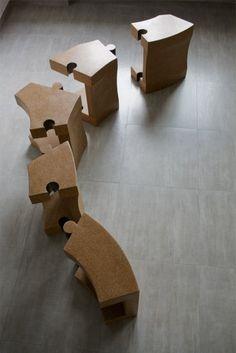 Chaise Cork par D'arc.Studio - Journal du Design