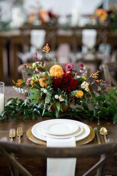 Fall urban garden wedding: http://www.stylemepretty.com/2017/05/11/fall-urban-garden-wedding-wilmington/ Photography: Theo Milo - http://theomilophotography.com/