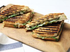 Grilled Eggplant, Arugula and Mozzarella Panini - Regular lettuce can feel a little drab after playing around with arugula. Be sure to pick the dark-green bundles while avoiding the larger leaves, which tend to pack more of a peppery punch than the small, tender ones. http://www.food.com/recipe/grilled-eggplant-arugula-and-mozzarella-panini-61868