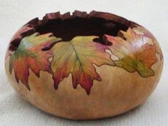 fall art gourds | Best Fall Gourd Art Project