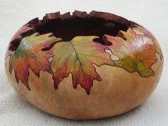 fall art gourds | Best Fall Gourd Art Project
