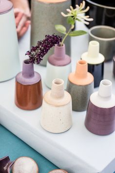 ceramic vases: http://www.tinamariecph.dk/ | Die SELLERIE