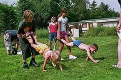 Cinco juegos al aire libre para niños - Paperblog
